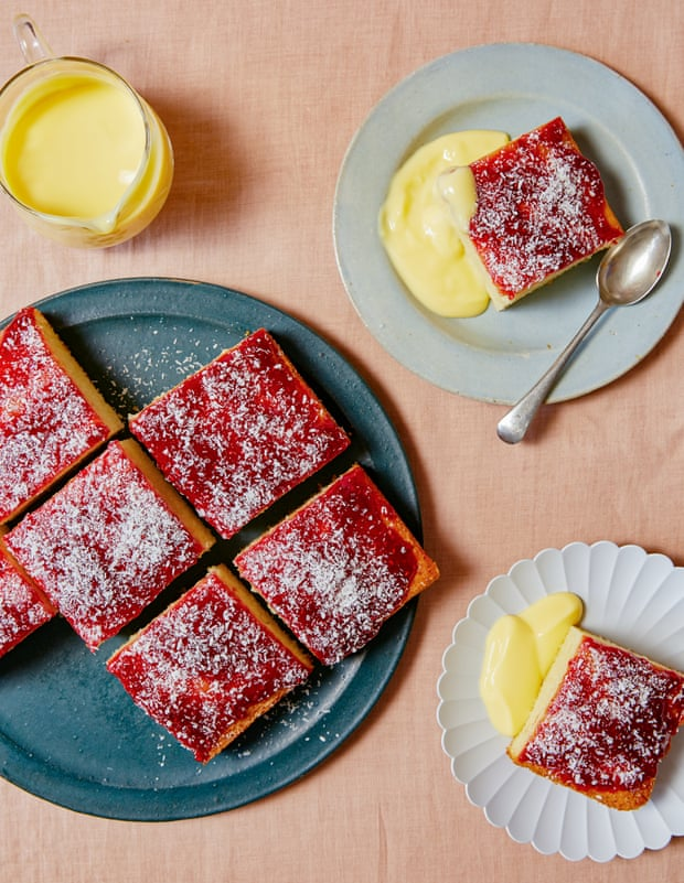 Jam sponge and cheesy flatbread: Ravneet Gill's recipes for young bakers