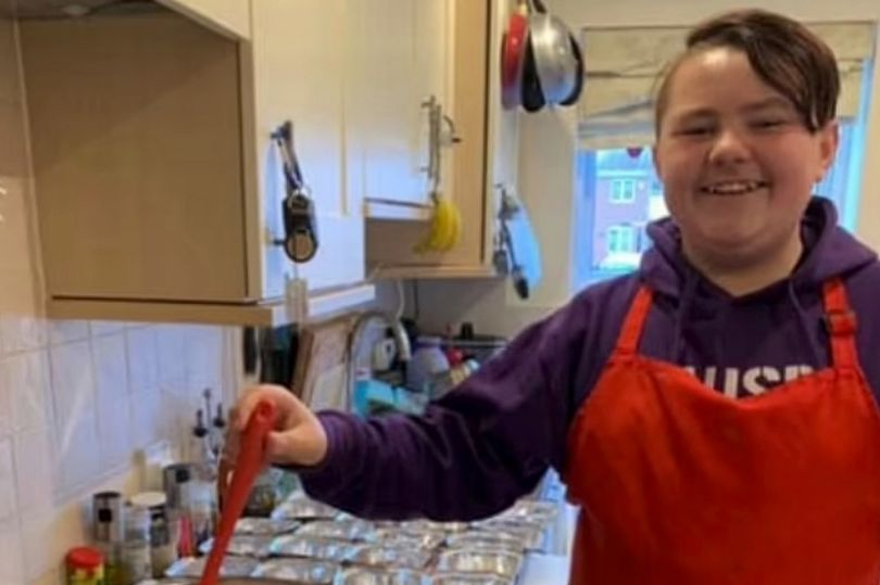 Savvy mum spends 15p a day on son's school lunches with batch cooking trick