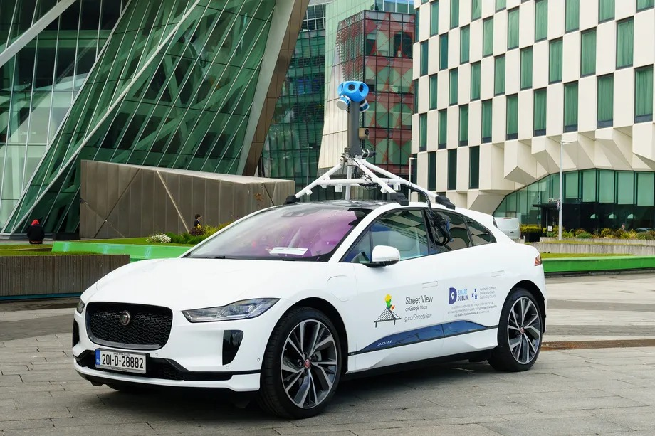 Jaguar I-Pace is Google's first electric Street View car